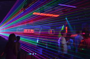 LaserSync pokaz przestrzenny VIP Club