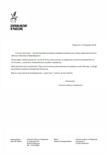 Piaseczno Referencje