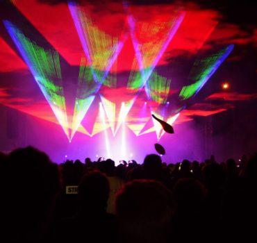 LaserSync laserowy pokaz przestrzenny 13